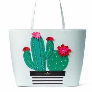 Kate Spade New Horizon Little Len Cactus Tote bag